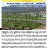 Presentació i tast de vins biodinàmics